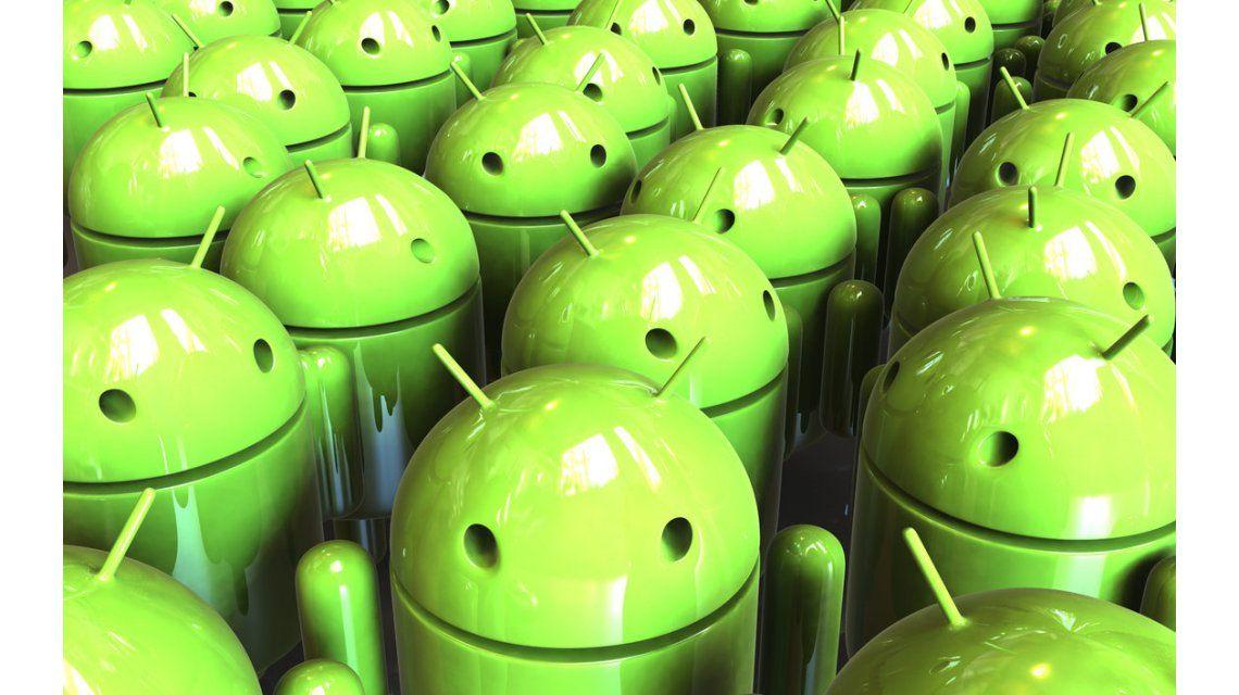 Android pasó por primera vez a Windows en puntos de acceso a la red