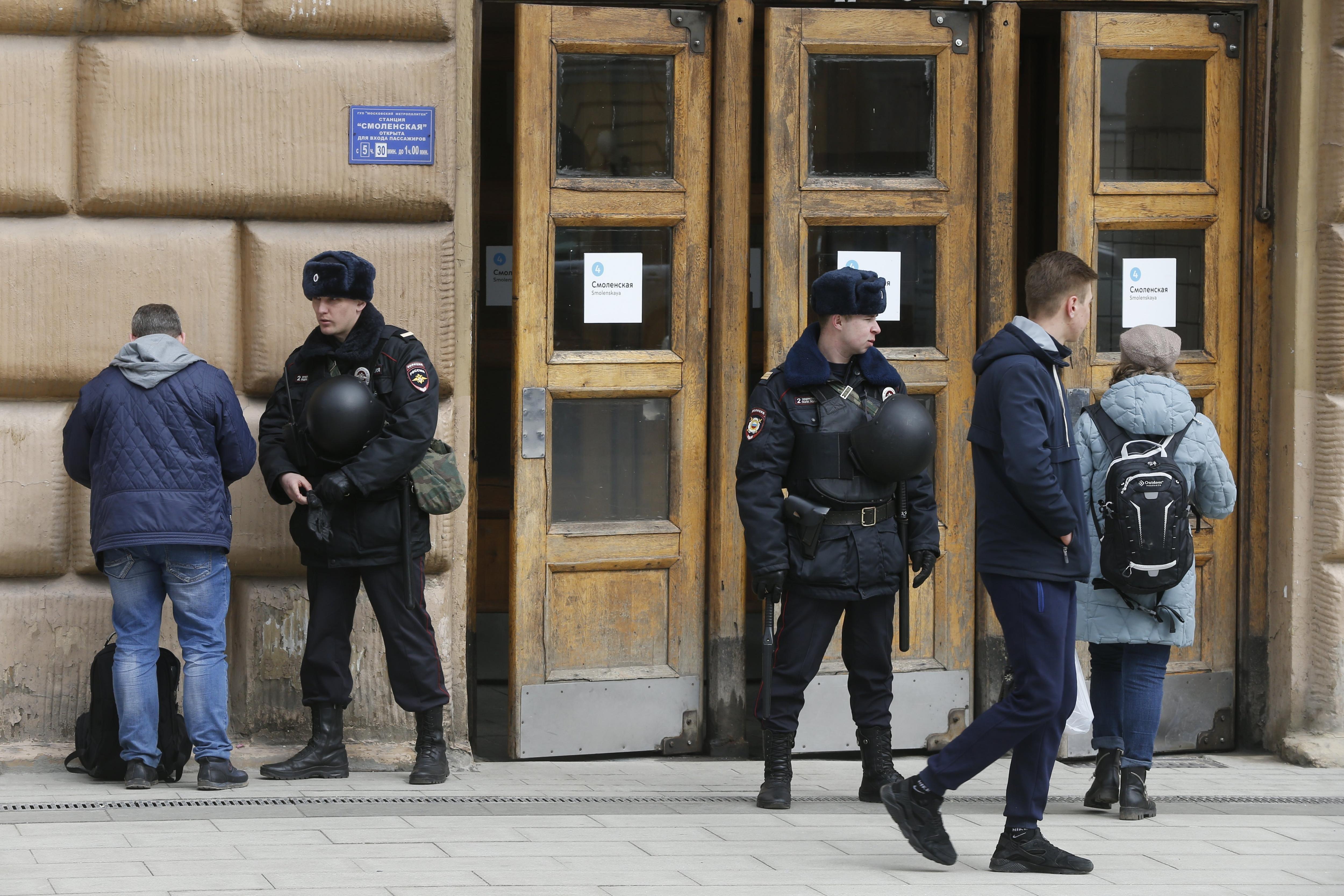 Vuelven a cerrar la estación deSan Petersburgo por amenaza de bomba
