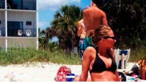 La foto de la mujer en bikini que se volvió viral