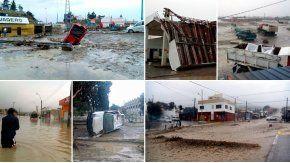 Más de 2.000 casas fueron destruidas por el temporal en Comodoro Rivadavia