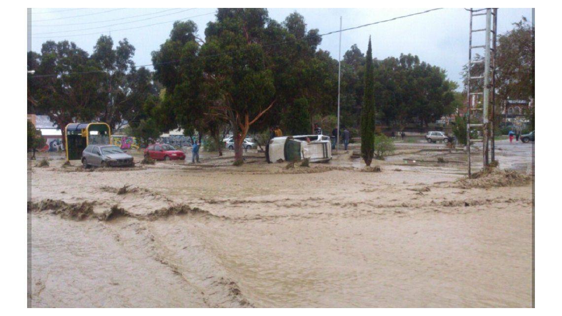 La inundación en Comodoro