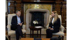Macri recibió a Tintori en Casa Rosada