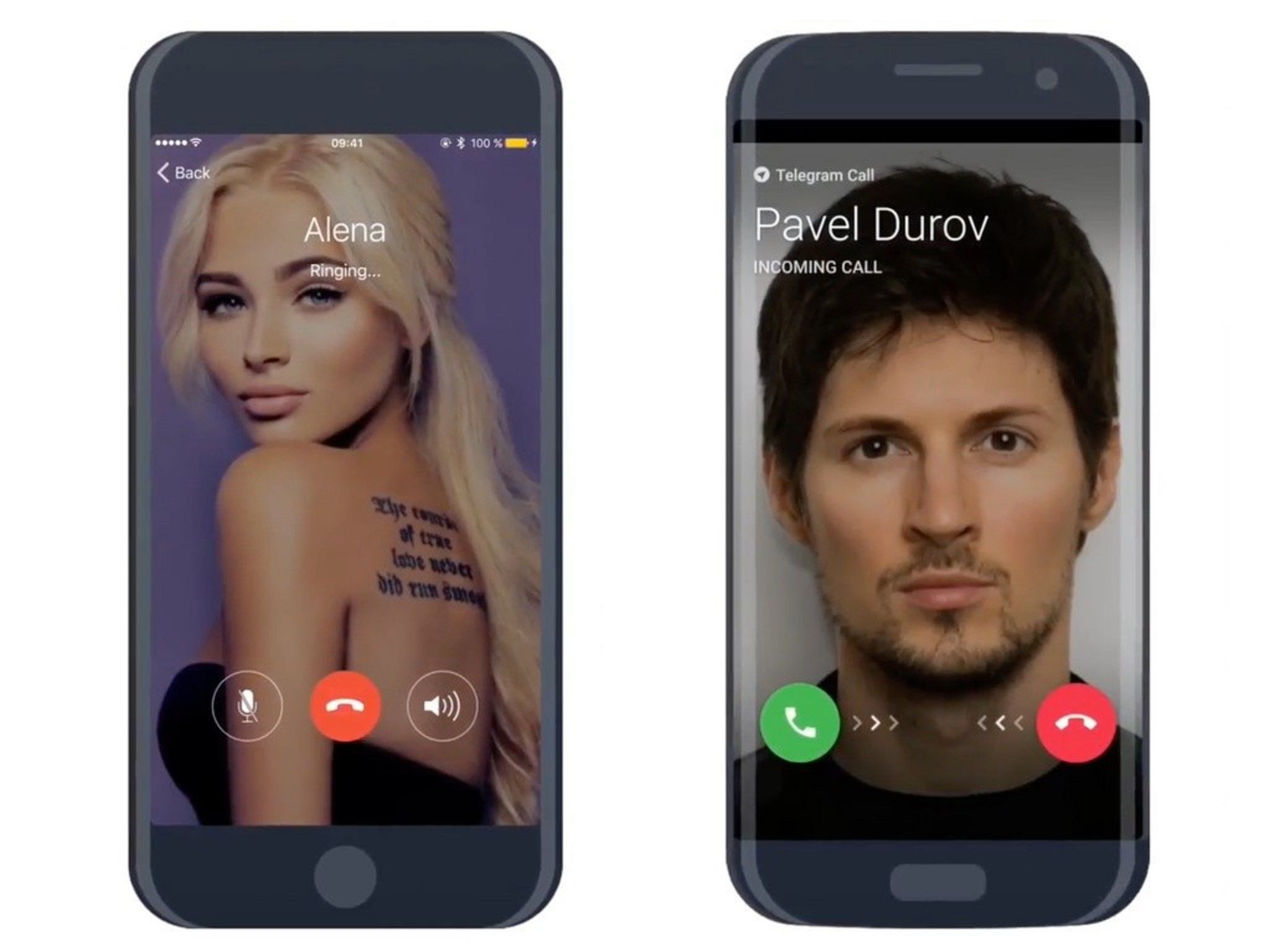 Telegram lanzó llamadas de voz
