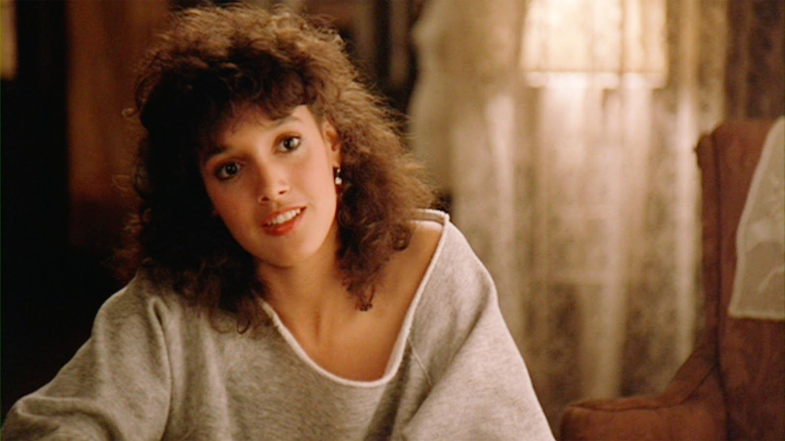 Jennifer Beals en su papel de Alex en Flashdance