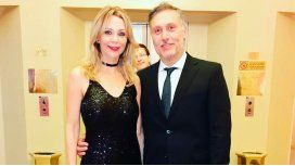 Evelyn Von Brocke junto a Juan Viaggio