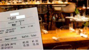 Con un ticket, escracharon a un bar por sobreprecios en Córdoba