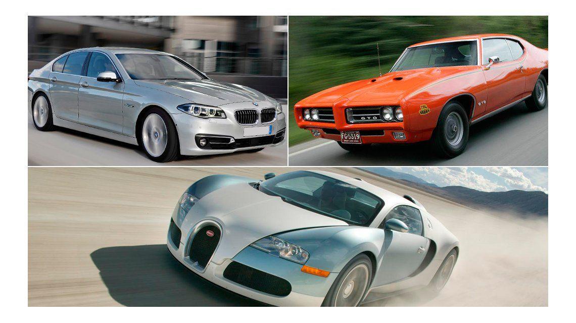 ¿Cuánto sabés de autos? Adiviná los modelos