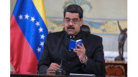 Nicolás Maduro en cadena nacional