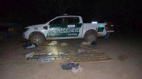Gendarmería incautó 180 kilos de marihuana - Crédito: diario21.tv