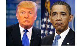 Trump responsabilizó a Obama por el ataque químico en Siria
