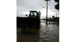 Así están las calles de Comodoro Rivadavia