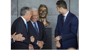 Cristiano Ronaldo y su polémico busto