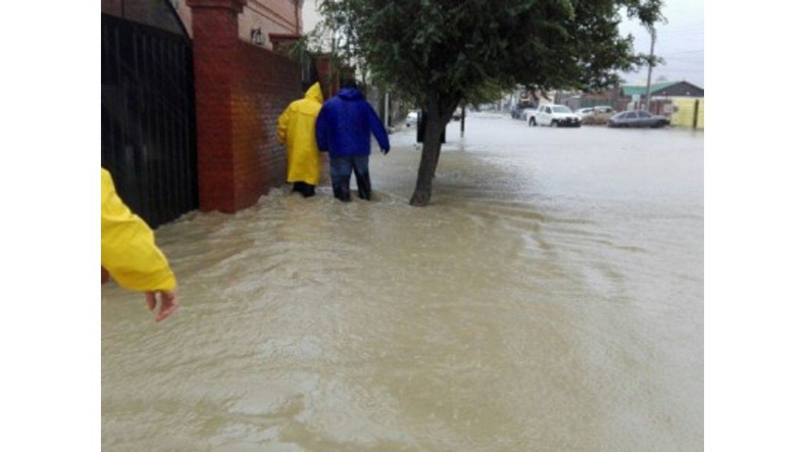 Alerta meteorológico en el sur de Chubut - Crédito: www.elchubut.com.ar