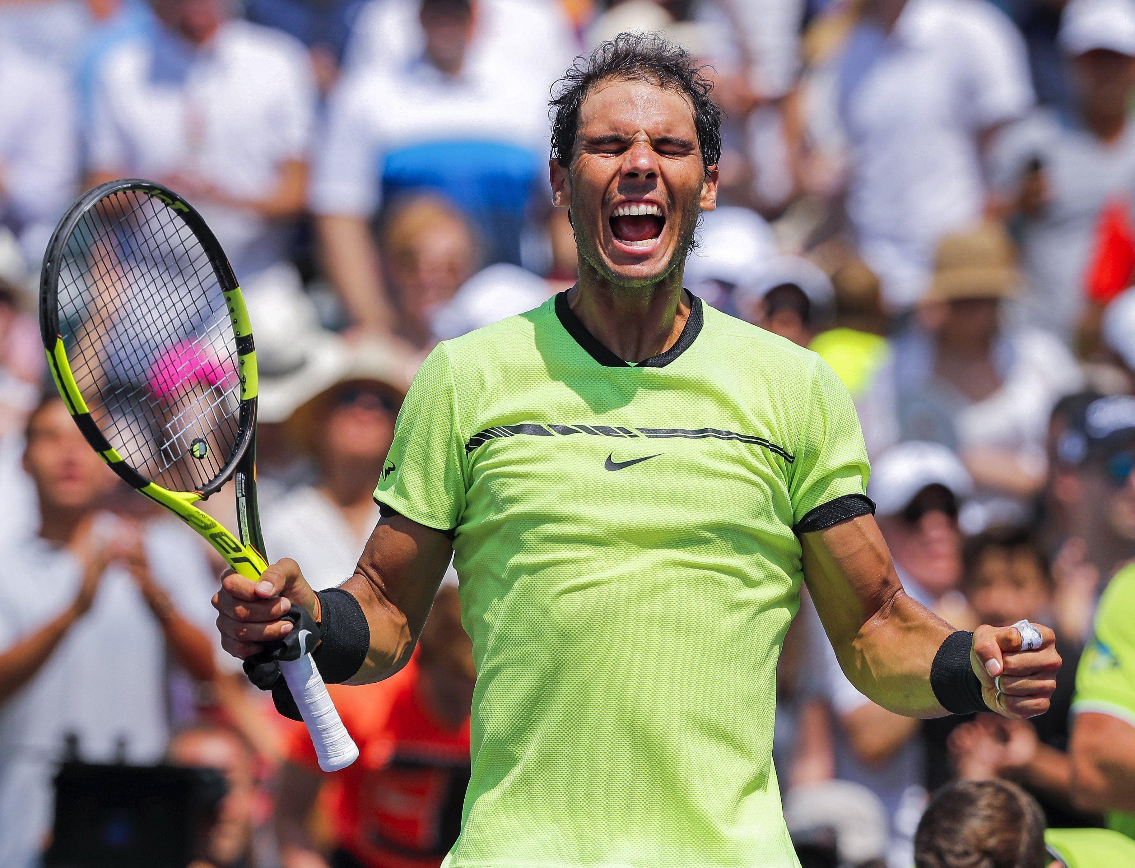 El español está en la final del Masters 1000 de Miami