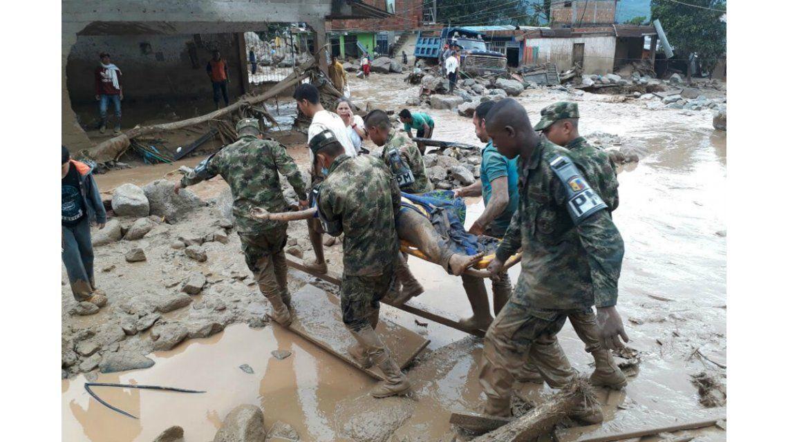 Tragedia en Colombia: al menos 206 muertos por el desborde de un río