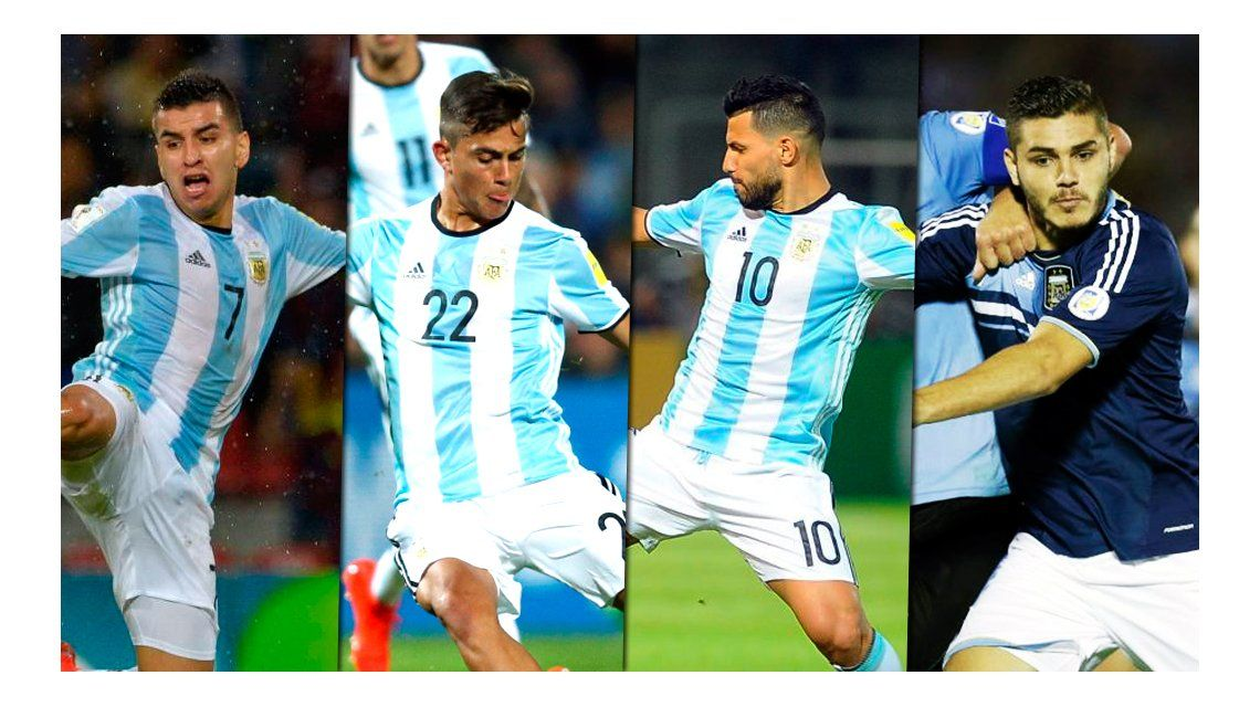 Los candidatos para reemplazar a Messi en las Eliminatorias