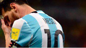 Messi, afuera por cuatro fechas