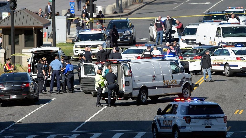 Pánico en Washington por un tiroteo cerca del Capitolio