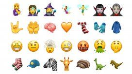 Los nuevos emojis que estarán disponibles en la segunda mitad del año