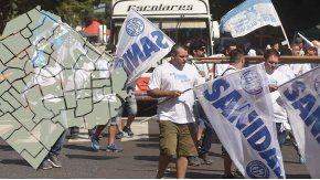Las dos CTA marcharán este jueves a Plaza de Mayo
