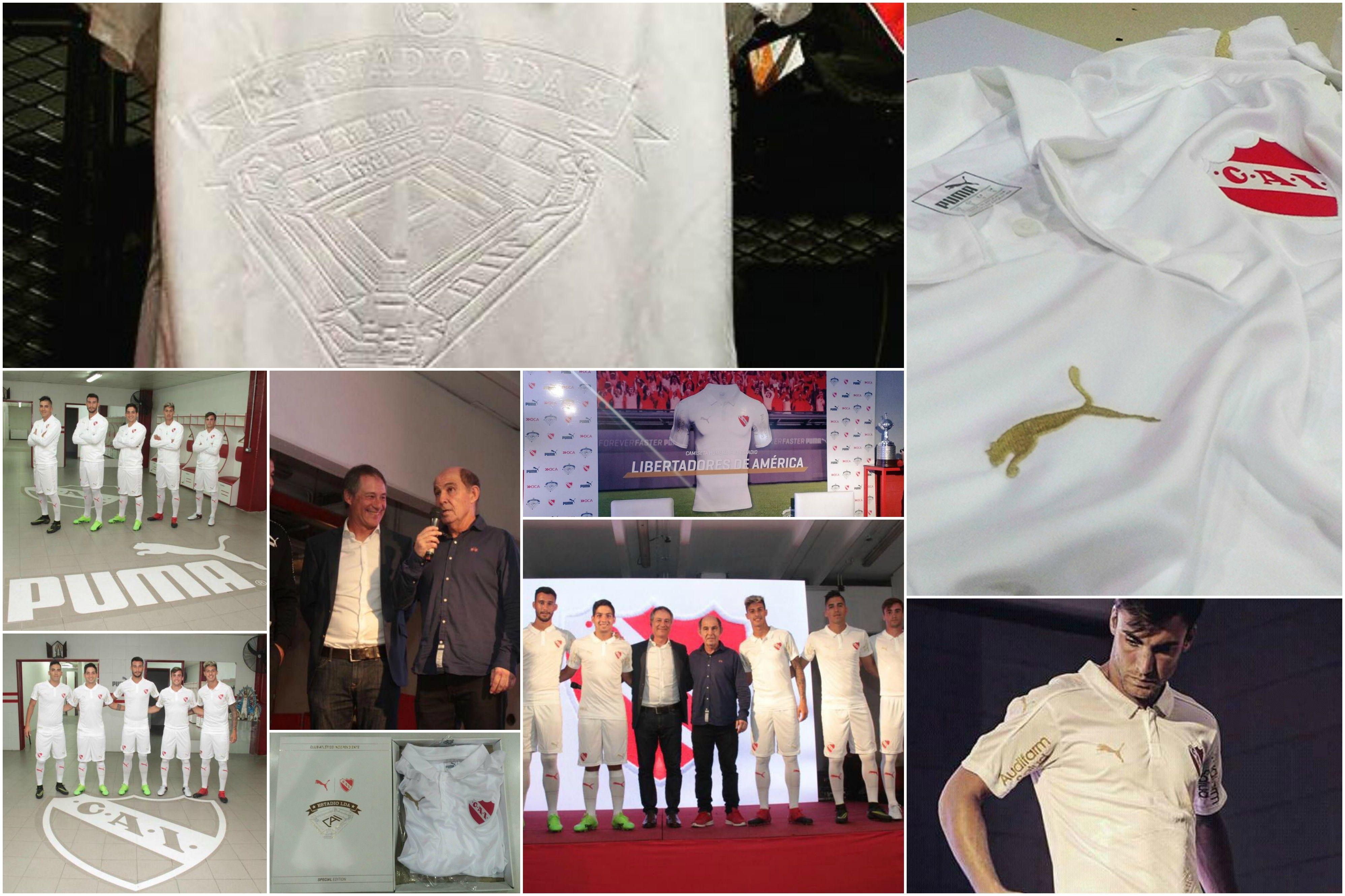 Fotos de la presentación de la nueva camiseta de Independiente