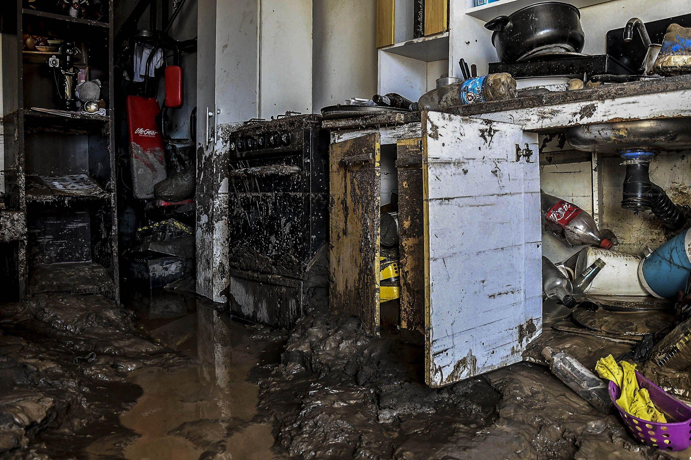 Varias provincias se vieron afectadas por las lluvias