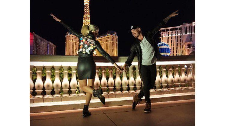 Laurita y Fede en Las Vegas