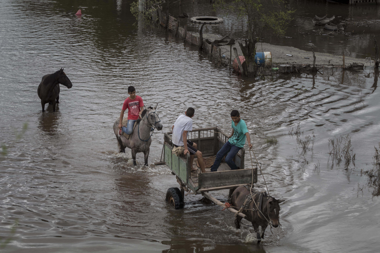 Gran parte del país está afectado por las fuertes lluvias