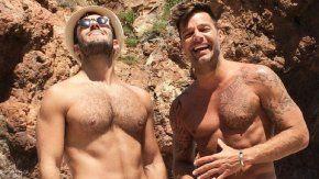 Ricky Martin y su novio