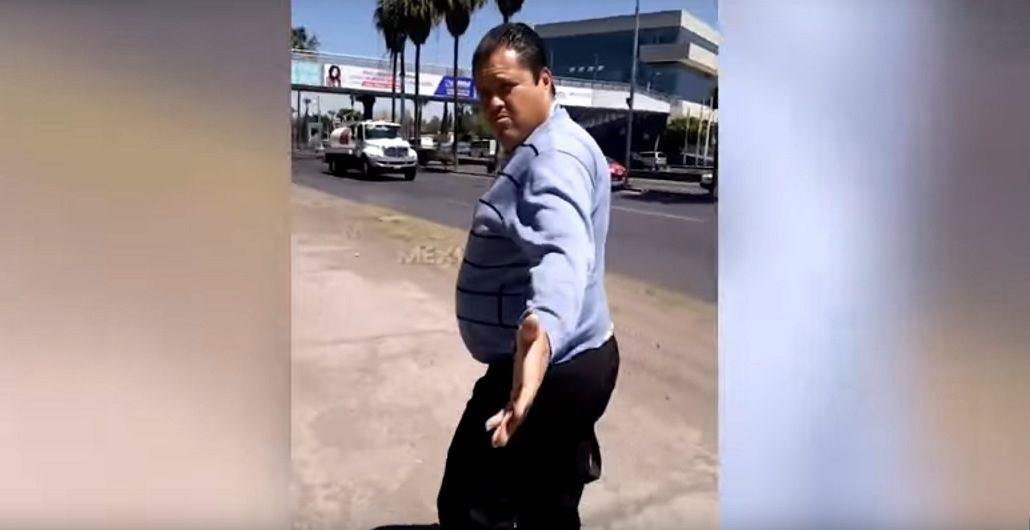 El hombre que habría abusado de la joven fue escrachado