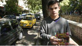 Leandro Bustos, un joven solidario y brillante. Crédito La Voz del Interior