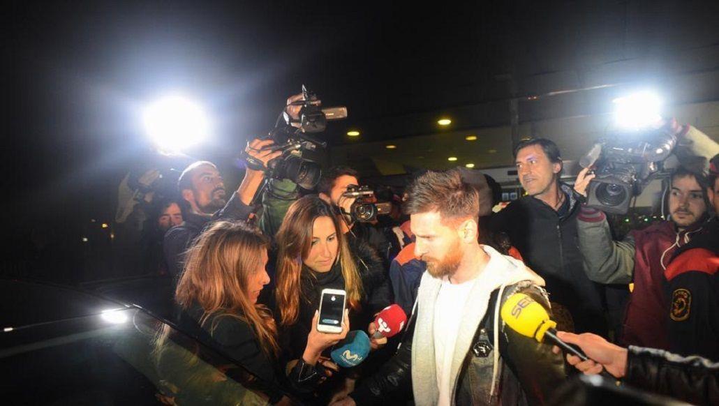 Messi llegó a Barcelona