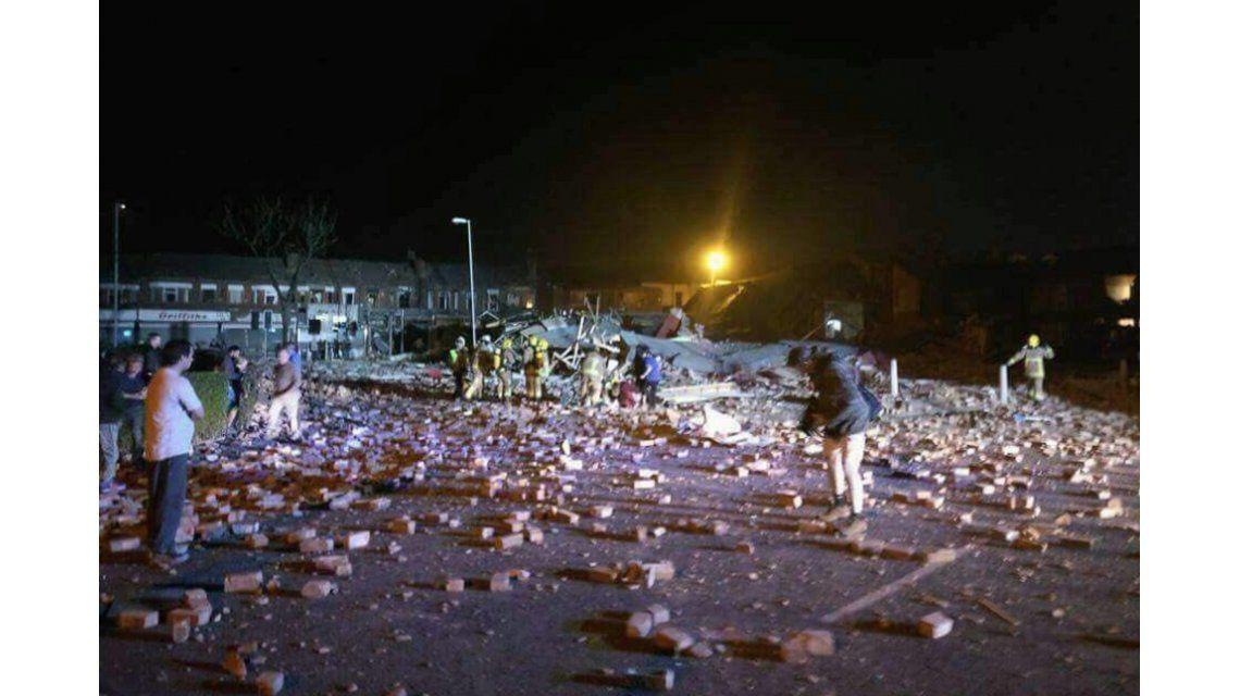 Una fuerte explosión dejó al menos 15 heridos en Liverpool