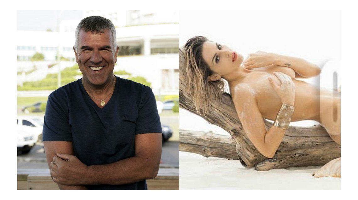 Dady Brieva no estaba preparado para el desnudo de Mariela Anchipi