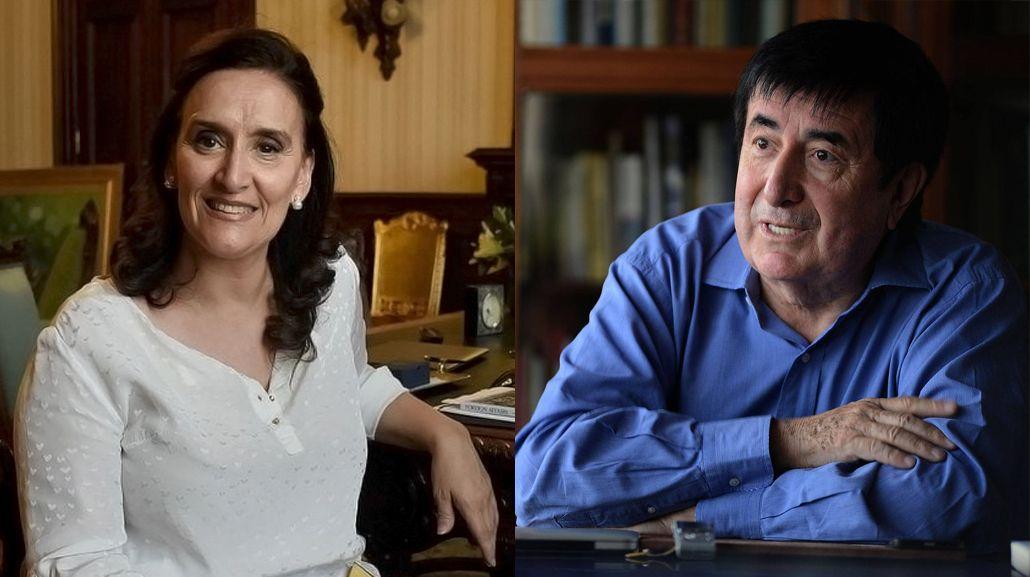 Gabriela Michetti y Jaime Durán Barba