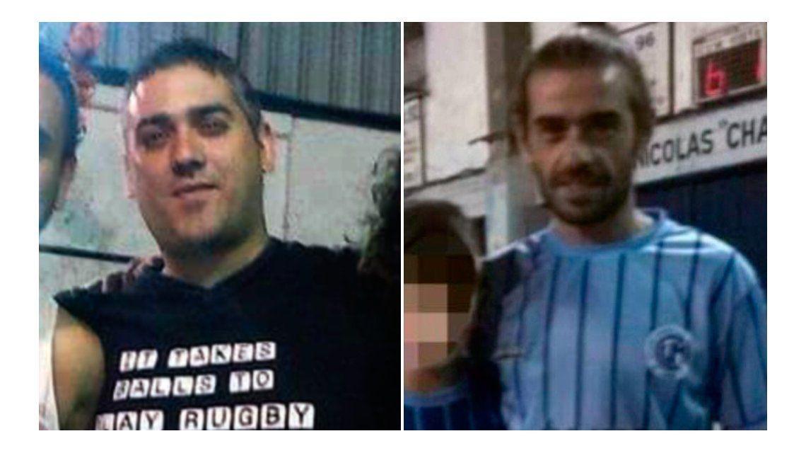Victima y victimario:Baldauf y Pereiras
