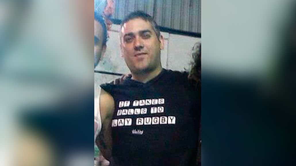 Victimario y víctima: Sergio Baldauf está acusado de haber asesinado a Fernando Pereiras