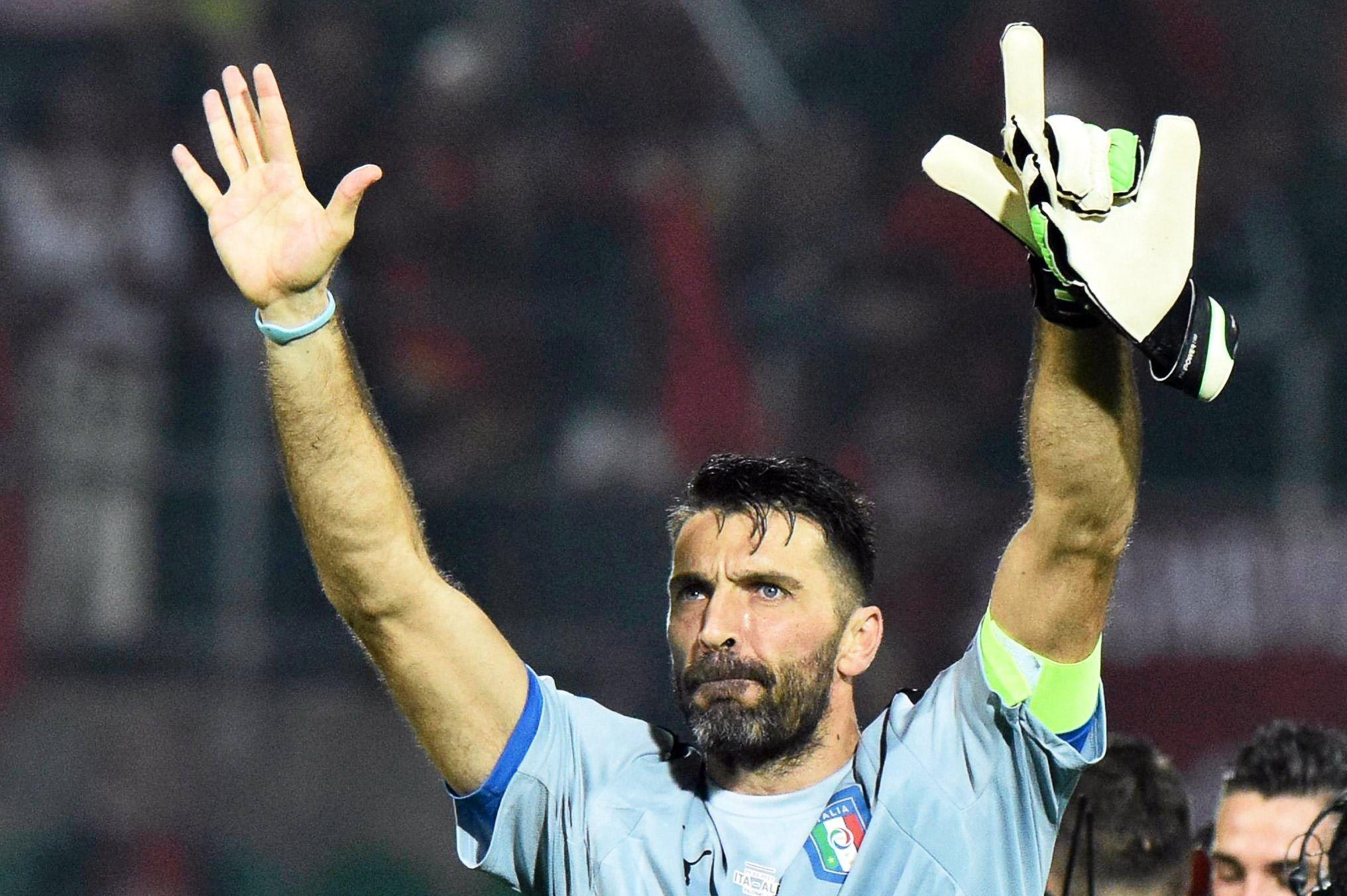 <p>Buffon, capit&aacute;n de Italia, puede quedarse afuera del Mundial si pierde en el repechaje</p>