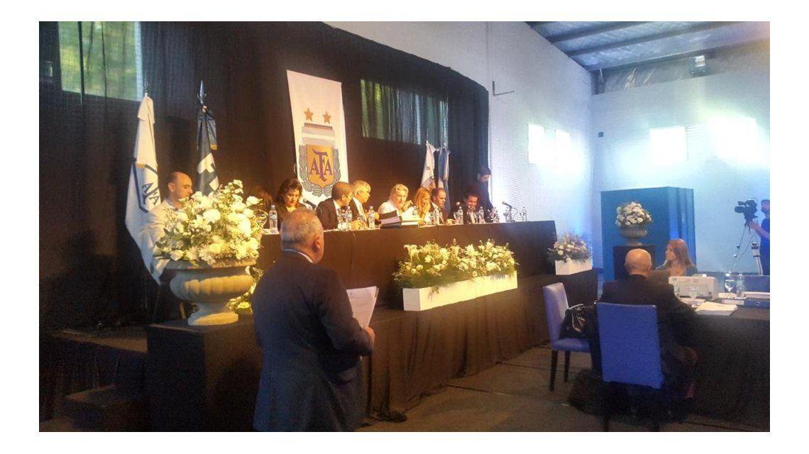 La asamblea que elegirá a Chiqui Tapia como presidente de la AFA