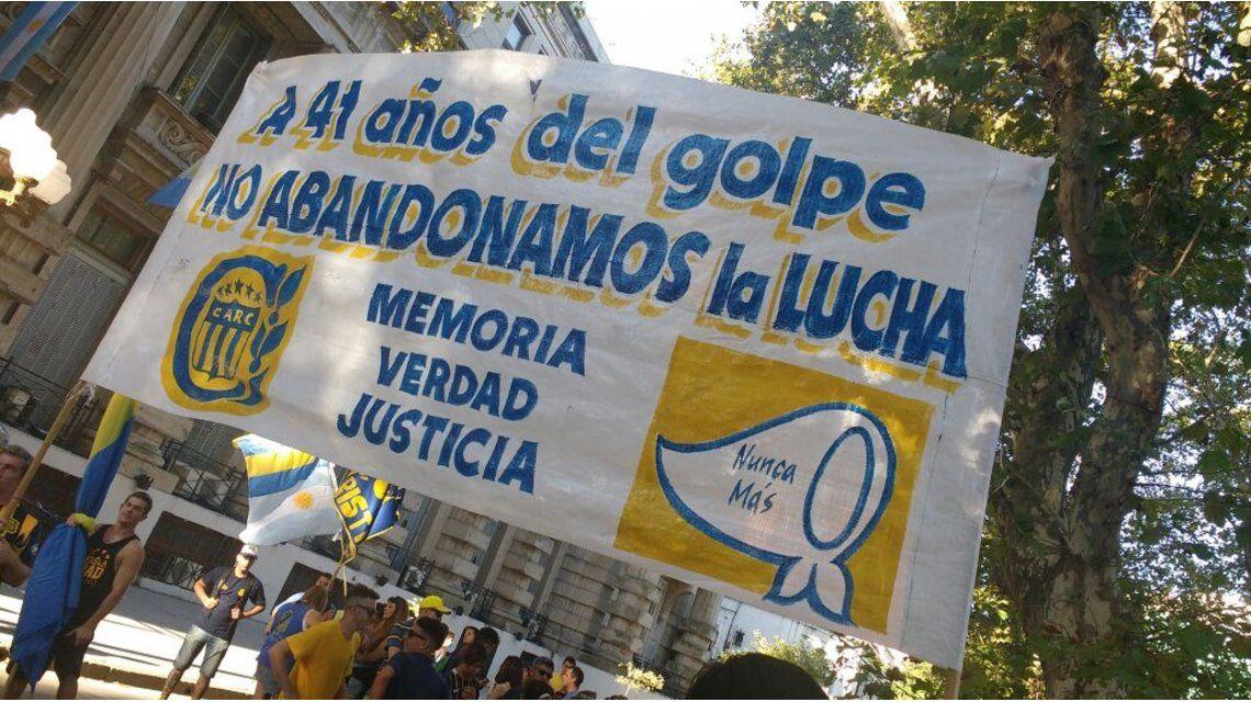 El fútbol argentino se sumó al Día de la Memoria