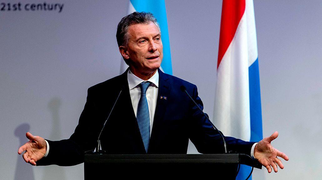 Mauricio Macri en Holanda