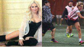 Verónica Ojeda reconoció que le gusta que se peleen Rocío Oliva y Maradona