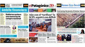 Tapas de diarios del viernes 24 de marzo de 2017