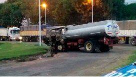 El camionero que atropelló y mató a un piquetero estaba borracho