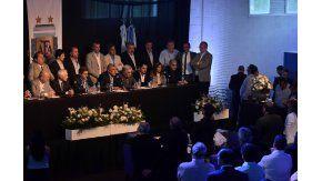 Chiqui Tapia dio su primer discurso como presidente de AFA