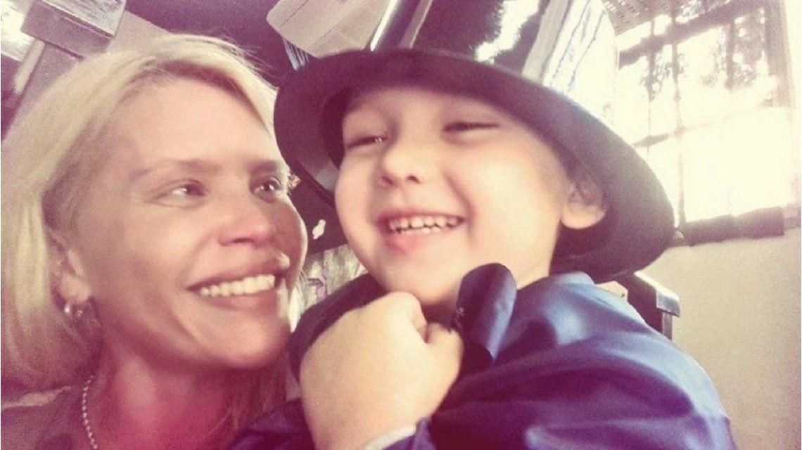 Nazarena Vélez publicó un video de su hijo Thiago enamoradísimo.