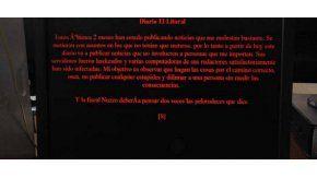 La página del diario El Litoral fue hackeada