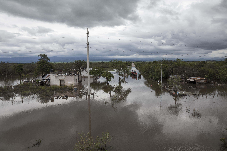 Gran parte del país está afectado por las fuertes lluvias que no cesan