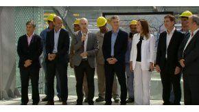 Macri, Larreta y Vidal inauguraron un centro de transbordo en Constitución