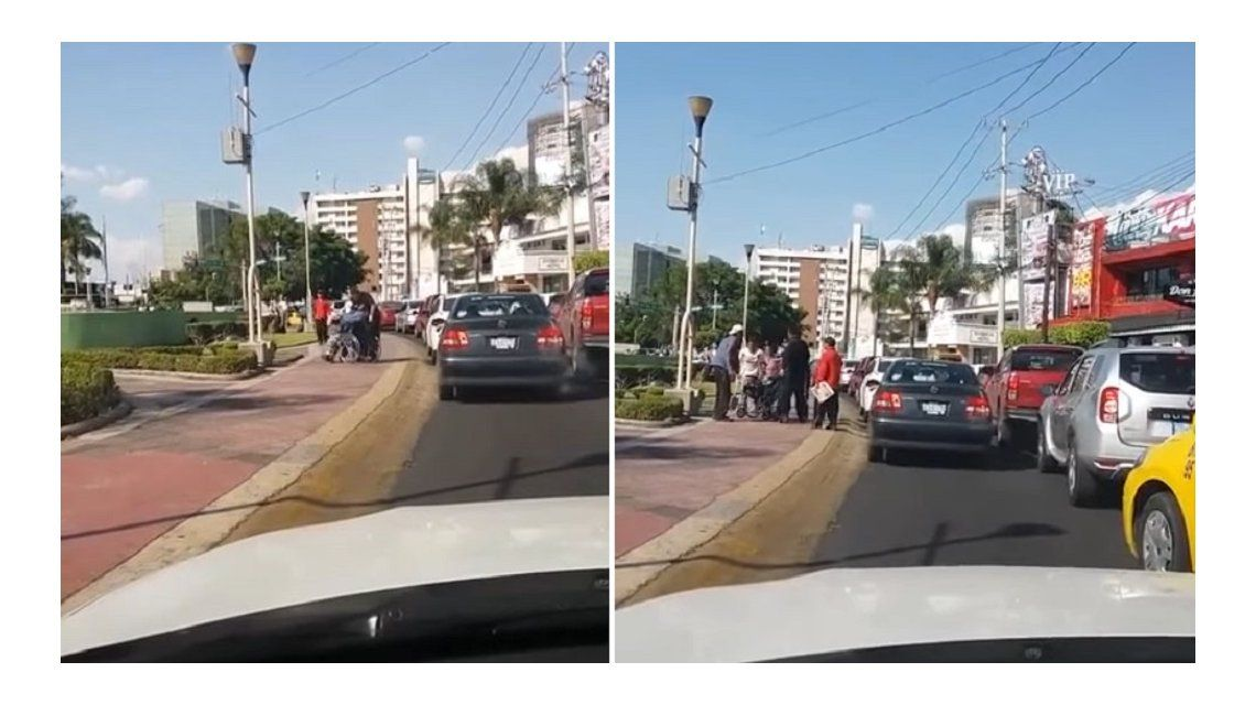 Descubre una estafa en México: se subía a una silla de ruedas para pedir dinero